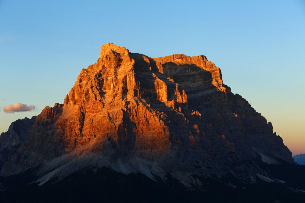 Soyez une montagne.