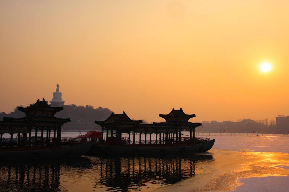 Pékin ensoleillée en hiver