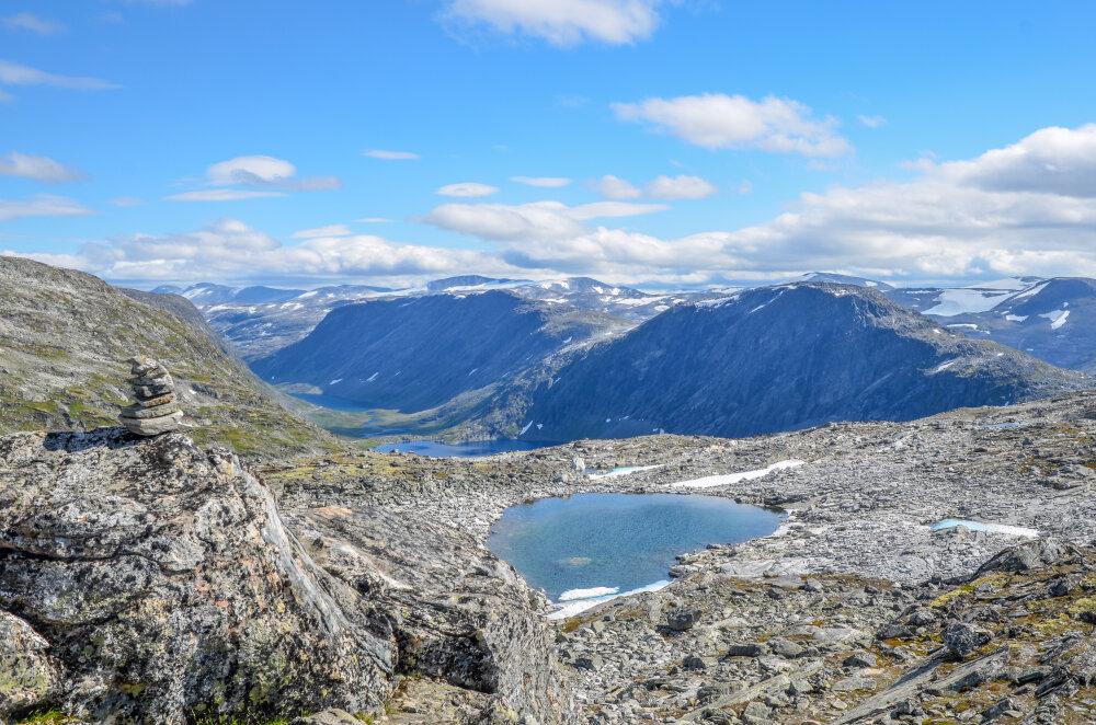 Sur les hauteurs du Geirangerfjord