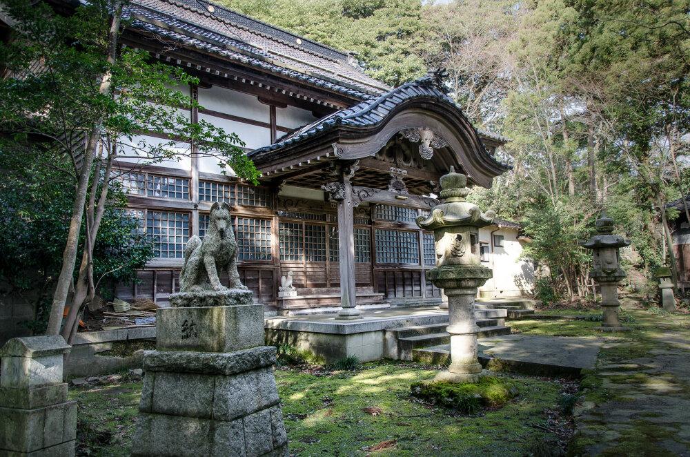 Temple perdu de Kanazawa