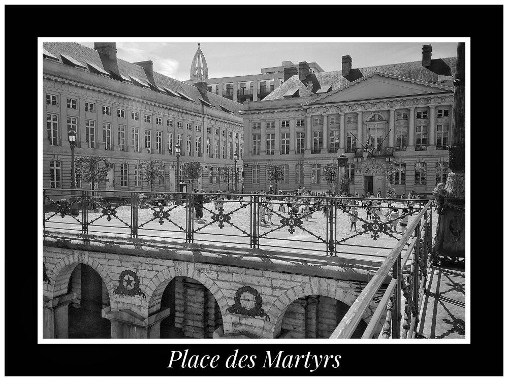 Place des Martyrs. Bruxelles