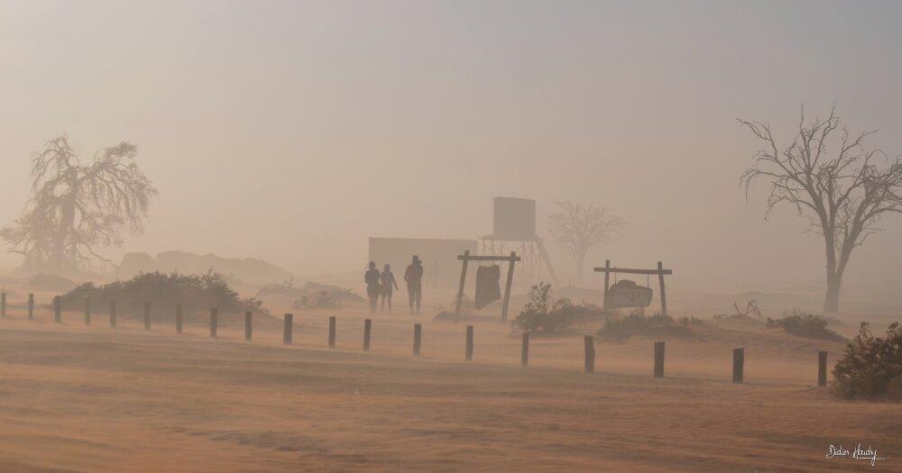 Dans la tempête de sable