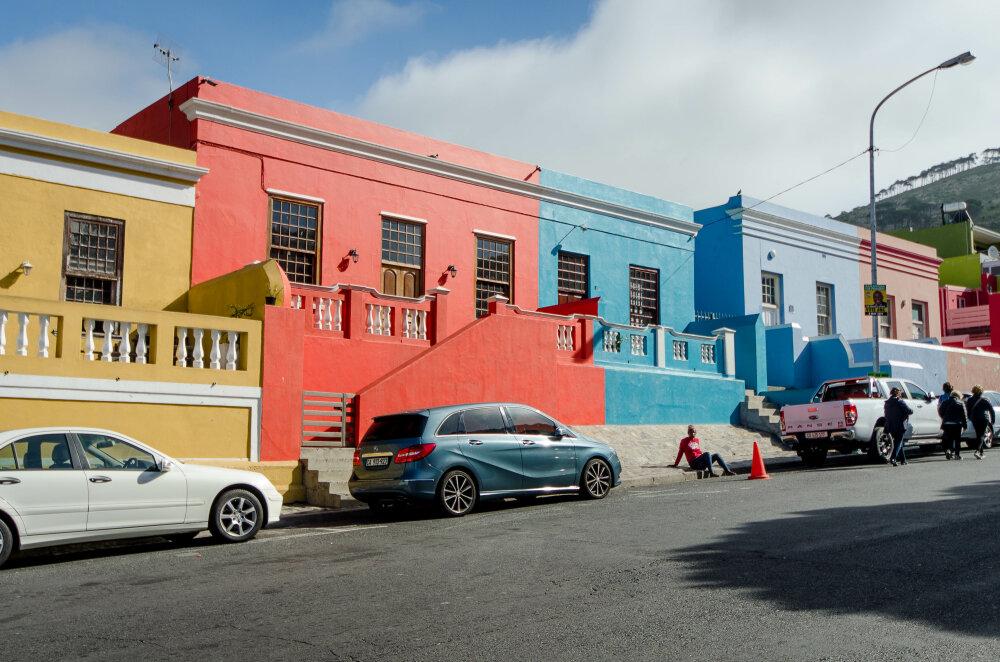 Bo-Kaap la colorée