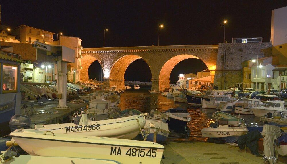Le port du Vallon des Auffes