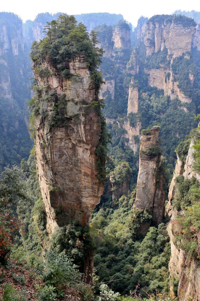 Mont Hallelujah d'Avatar - Zhangjiajie National Forest Park