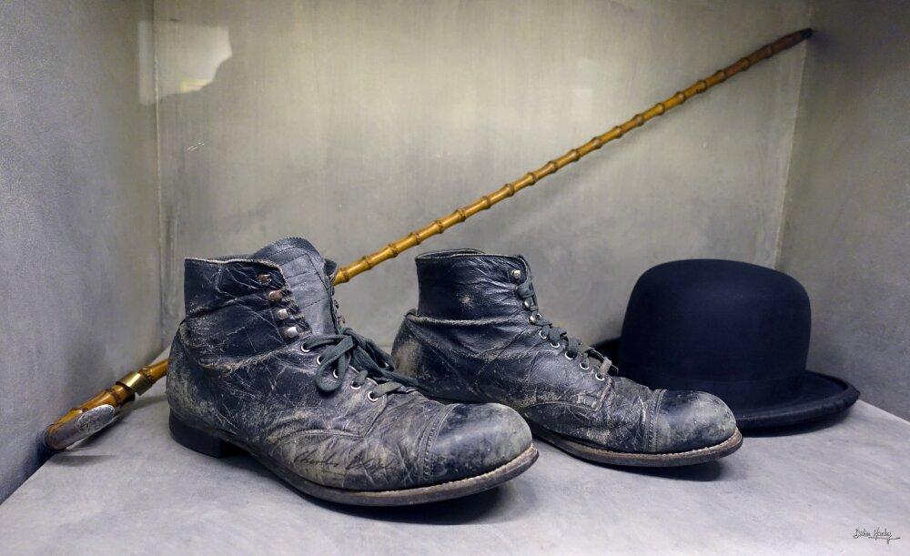 Souvenirs du Musée de Sir Charlie Chaplin à Vevey