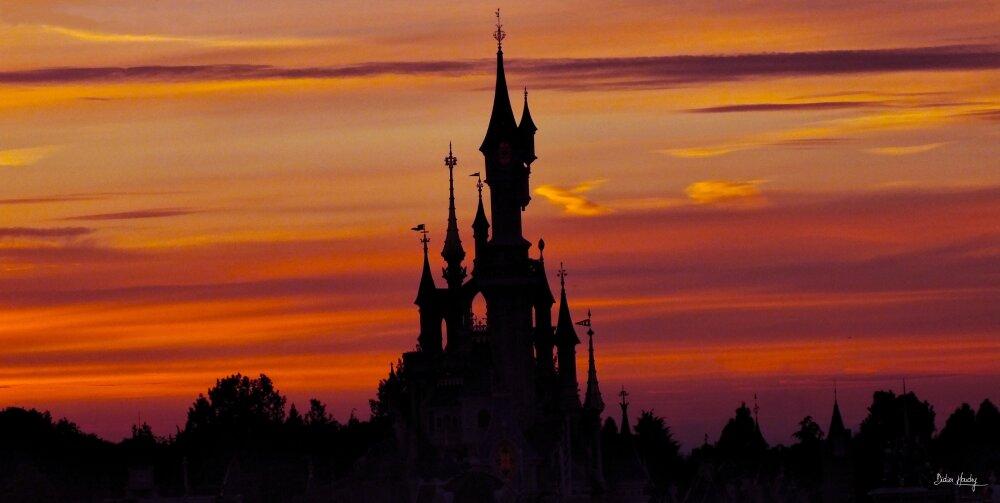 Fin du jour chez Mickey
