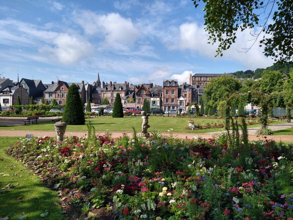 Jardin d'Honfleur