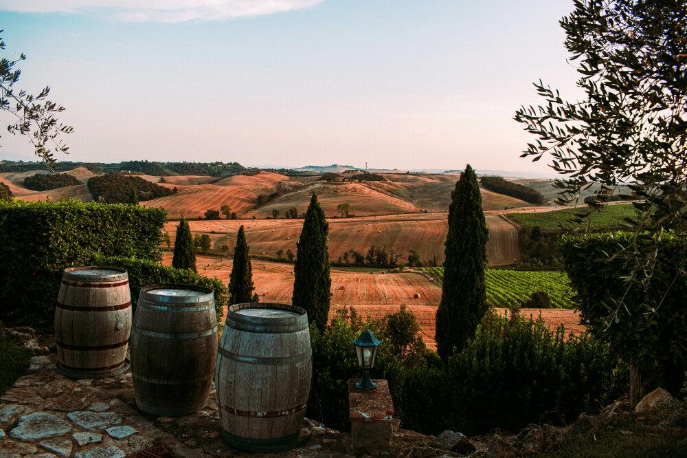 Tuscan postcard