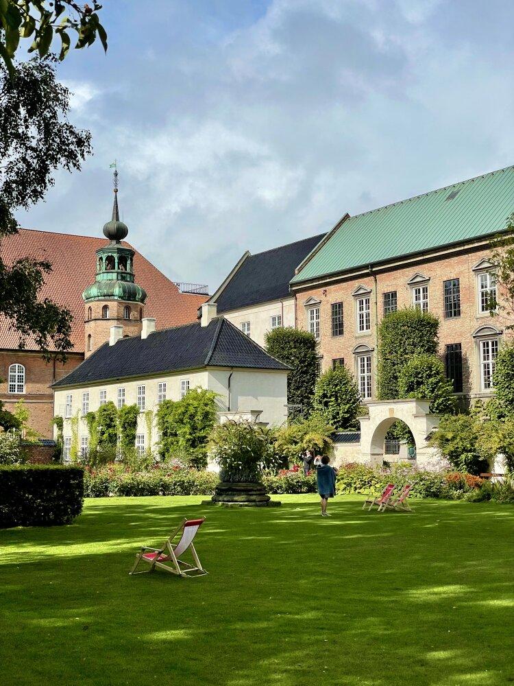 Jardin de la bibliothèque royale