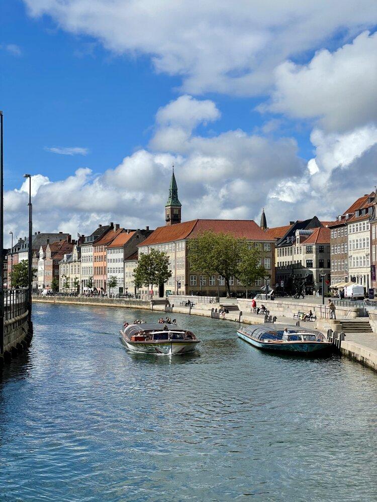 Canal de l'île Slotsholmen