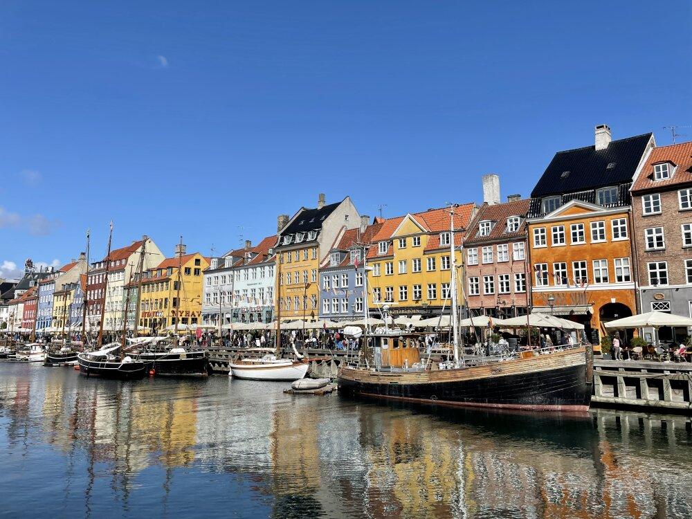 Canal Nyhavn - Nouveau Port de Copenhague