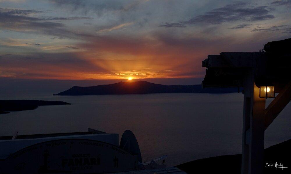 Sunset à Fira