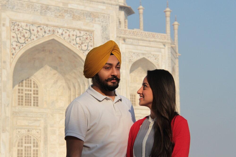 Les amoureux du Taj Mahal