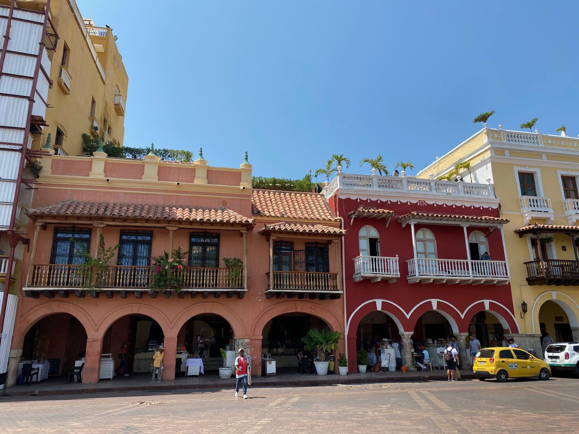 Place principale à Carthagène, Colombie
