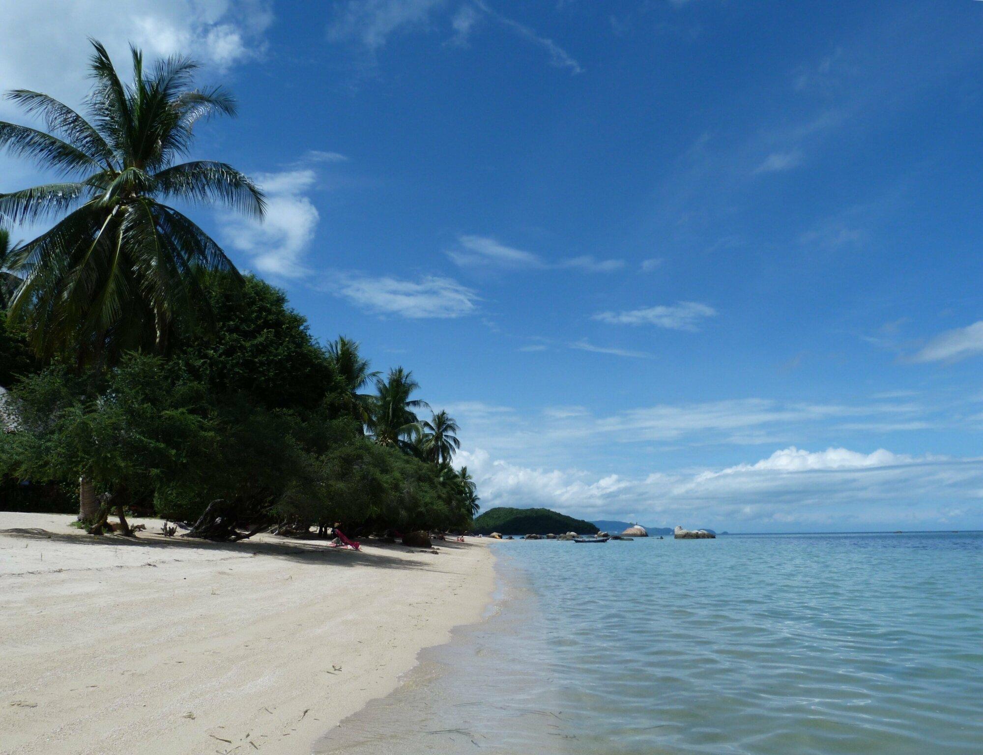 Les eaux claires du golfe de Thaïlande