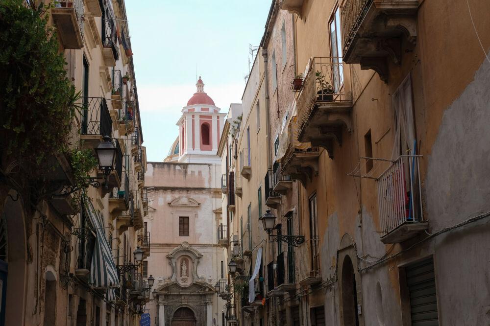 Trapani - Via San Francesco d'Assisi