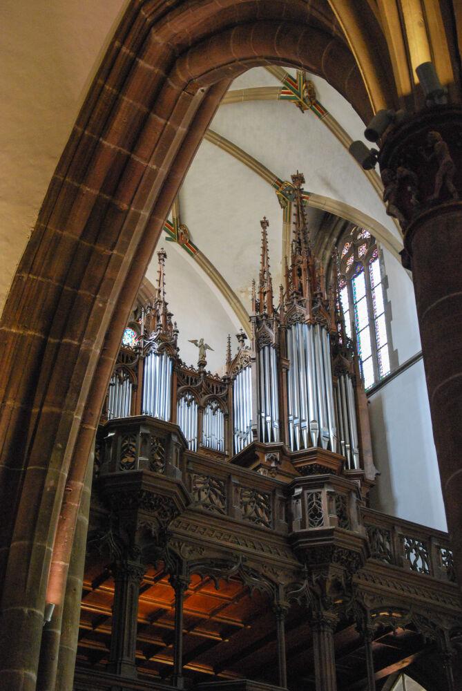 Thann - L'orgue de la Collégiale St -Thiébaut