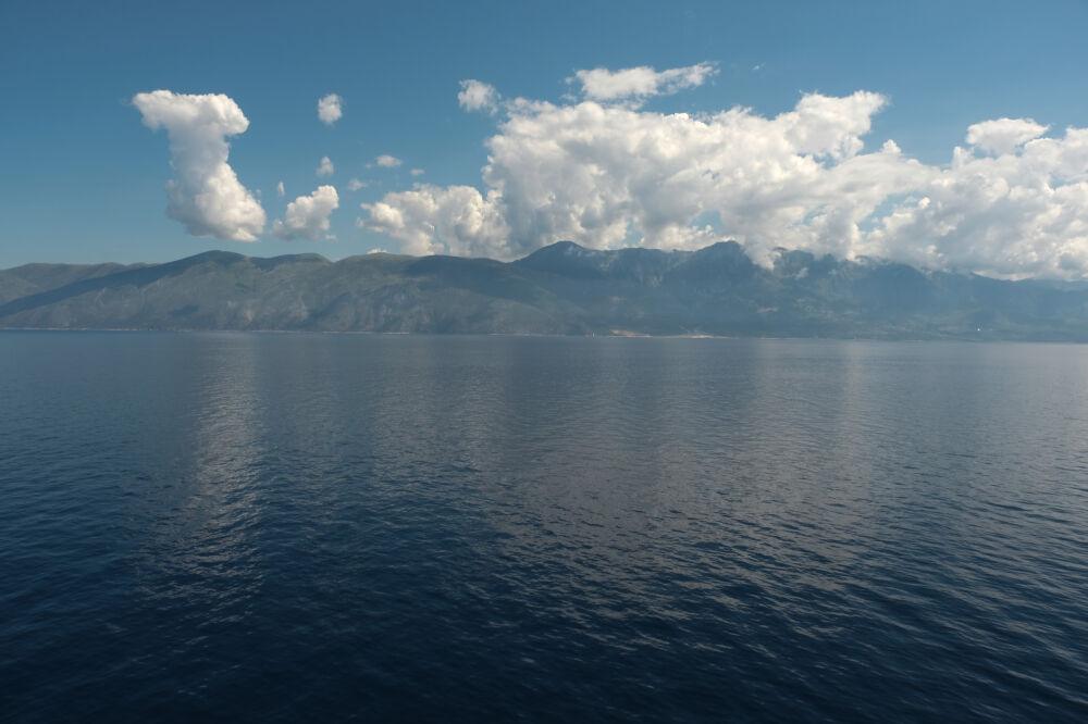 La côte albanaise