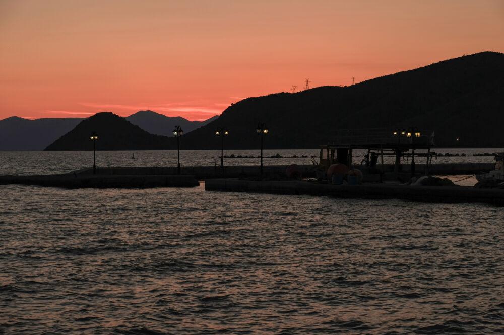Port de Sagiada (Grèce)