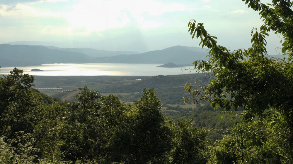 Petit lac Prespa