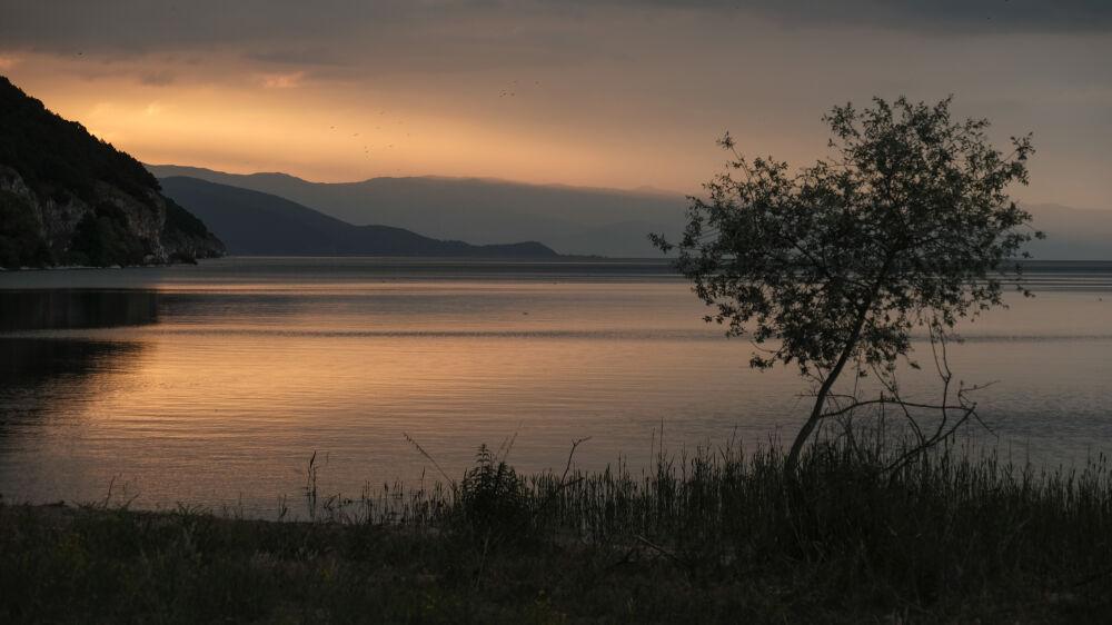 Grand lac Prespa