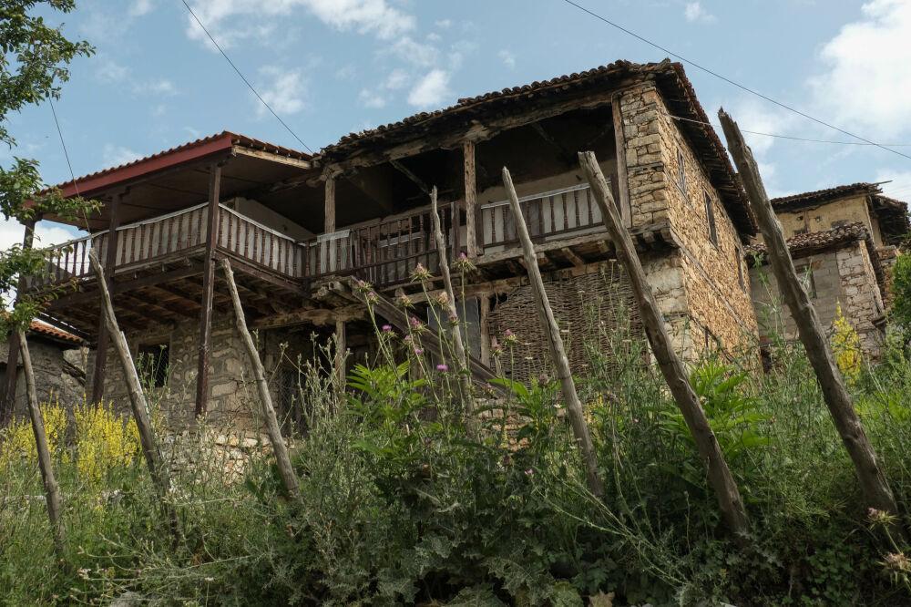Maison traditionnelle du village de Psarades