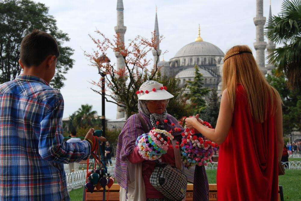 Istanbul - Vers la Mosquée Bleue