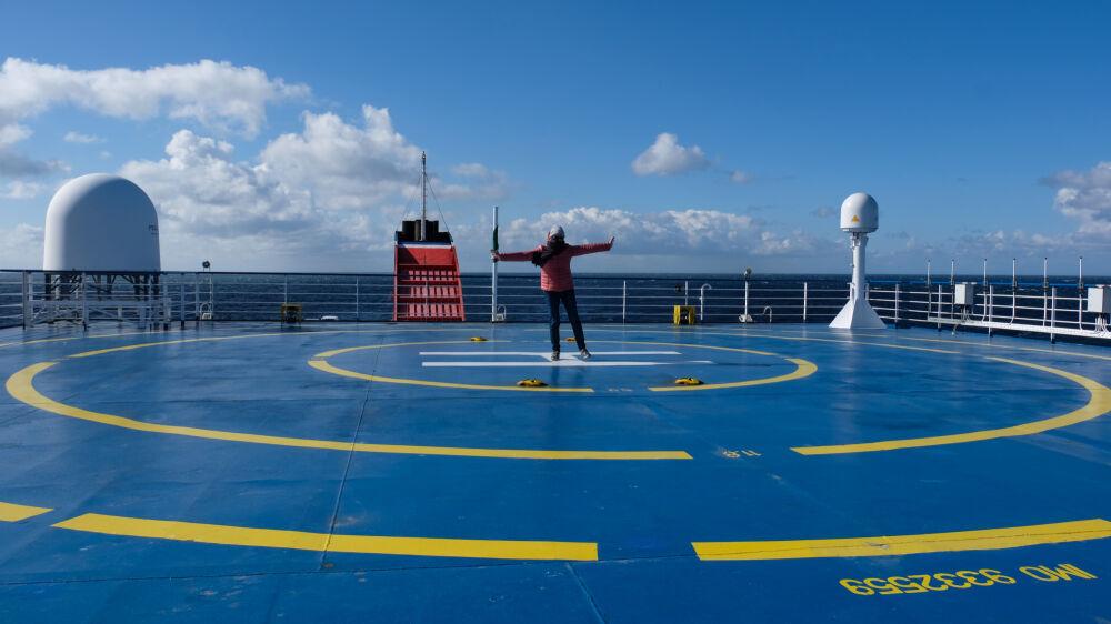 """Sur le ferry """"Stena Horizon"""""""