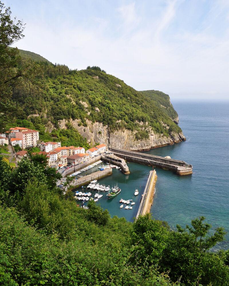 Port d'Elantxobe