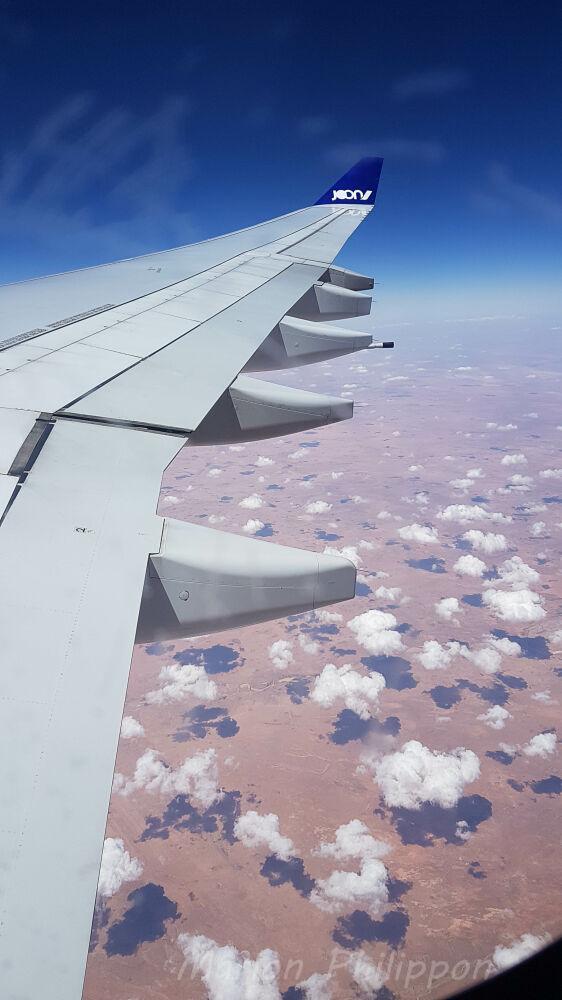 Survol du Sahara