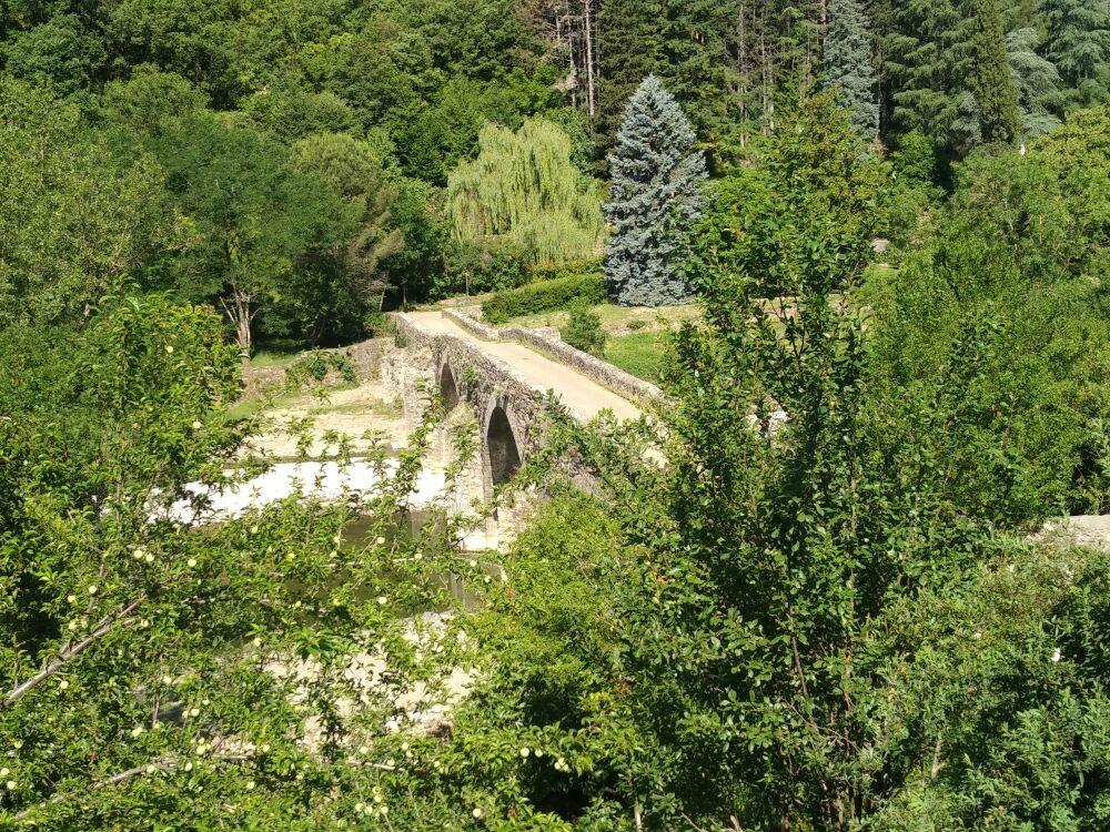 Le Pont des Camisards a Miallet