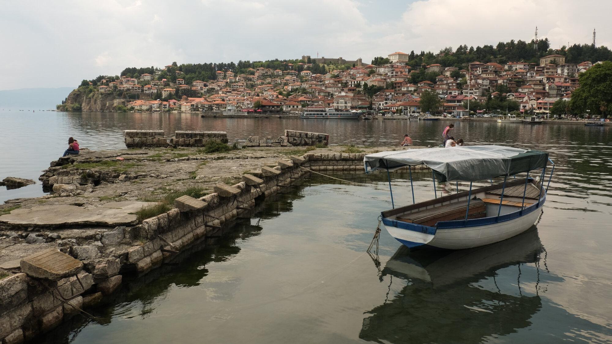 Ohrid - Bord du lac