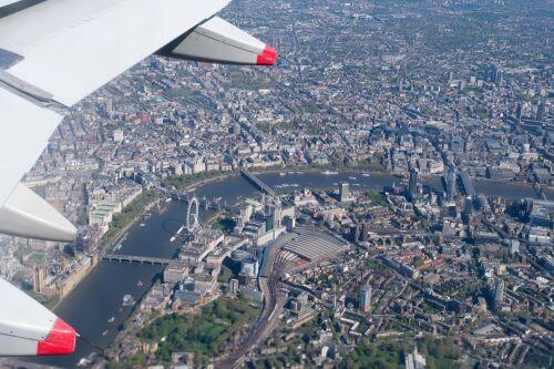 Survol de Londres